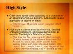 high style9