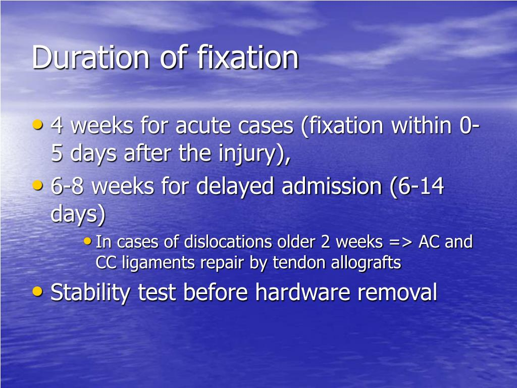 Duration of fixation