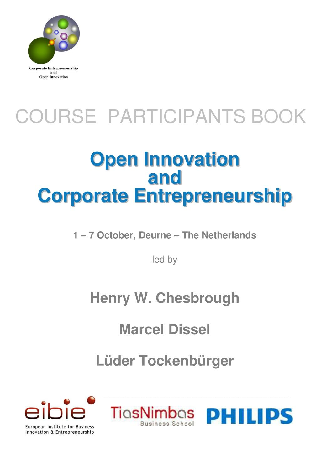 course participants book l.