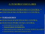 a tumores vasculares