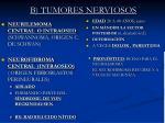 b tumores nerviosos