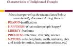 characteristics of enlightened thought
