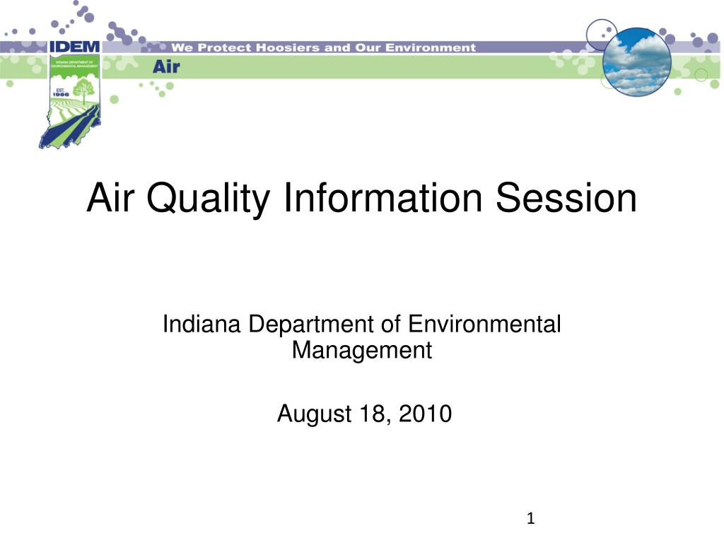 air quality information session l.