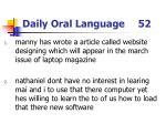 daily oral language 52