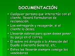 documentaci n