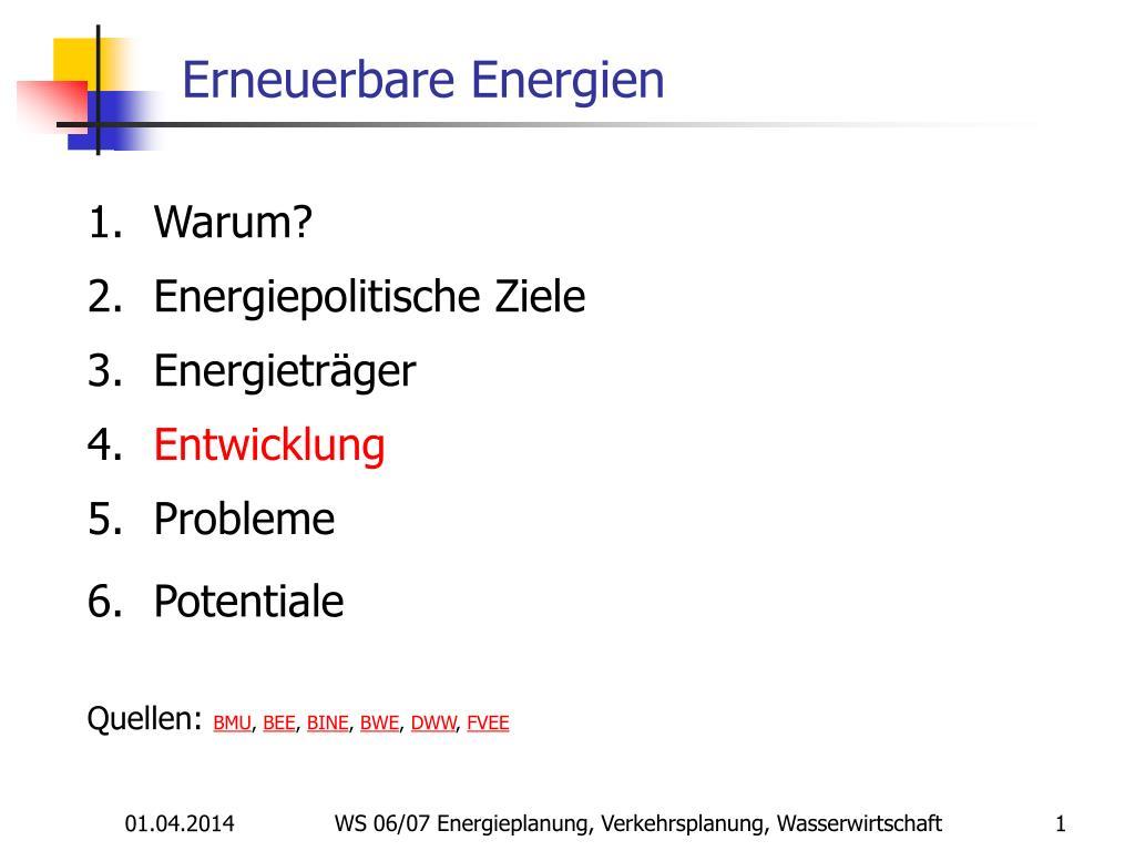 erneuerbare energien l.
