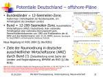 potentiale deutschland offshore pl ne