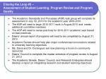 closing the loop 5 assessment of student learning program review and program quality