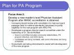 plan for pa program59