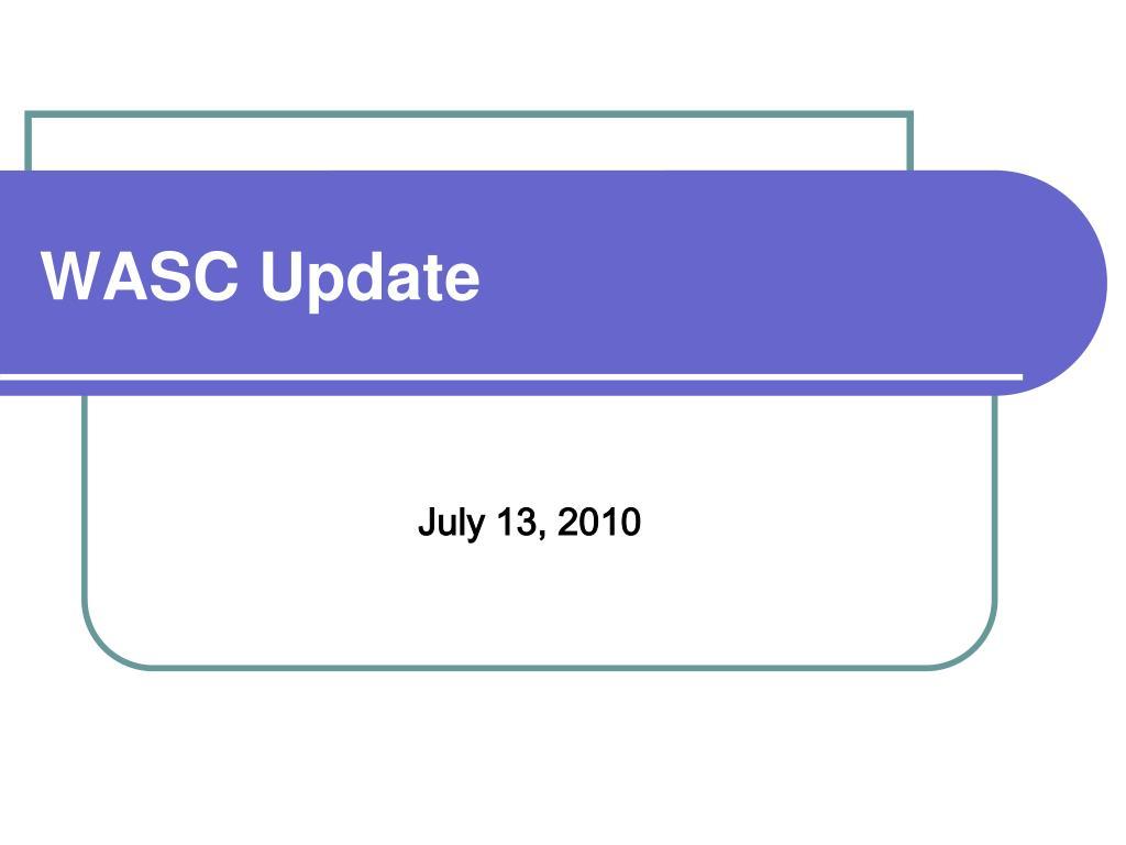 wasc update l.