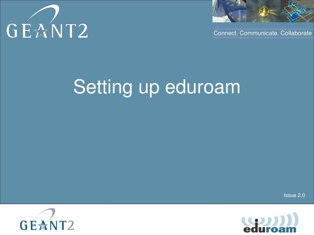 setting up eduroam l.