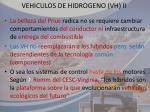 vehiculos de hidrogeno vh ii