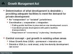 growth management act