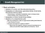 growth management act45