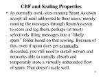 cbf and scaling properties