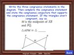 congruent triangles 200 question