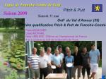 ligue de franche comt de golf13