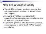 new era of accountability