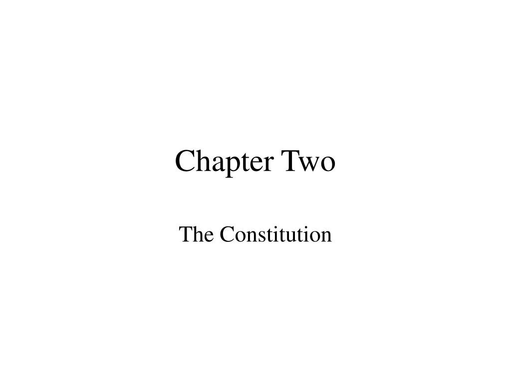 chapter two l.
