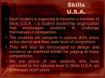 skills u s a