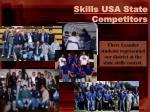 skills usa state competitors