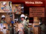 wiring skills