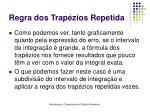 regra dos trap zios repetida32