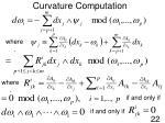 curvature computation