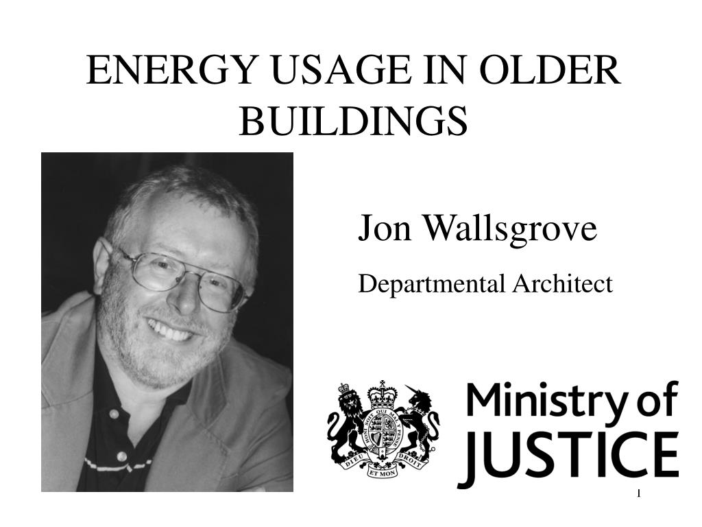 energy usage in older buildings l.