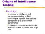 origins of intelligence testing4