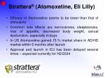 strattera atomoxetine eli lilly46