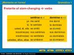 preterite of stem changing ir verbs3