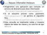 ataques information disclosure