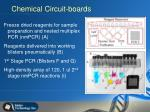 chemical circuit boards