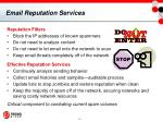 email reputation services