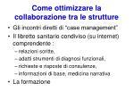 come ottimizzare la collaborazione tra le strutture