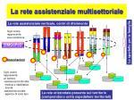 la rete assistenziale multisettoriale