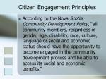 citizen engagement principles12