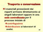 trasporto e conservazione1