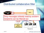 distributed collaborative filter
