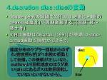 decretion disc disc