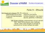 dossier d amm11