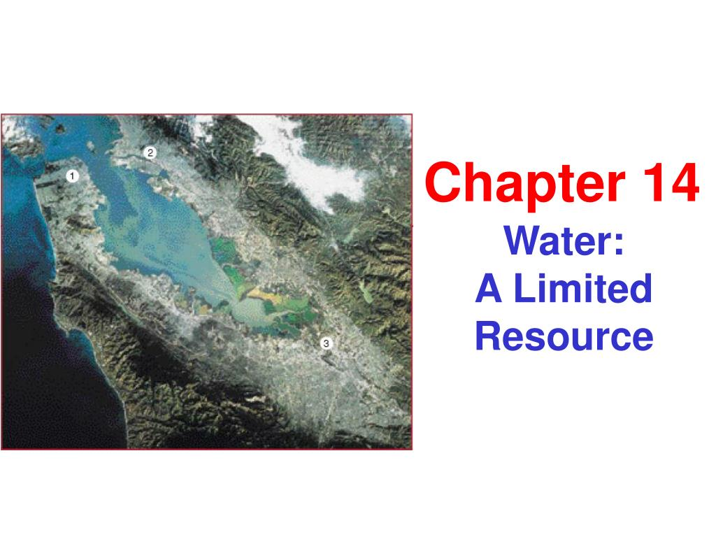 water a limited resource l.