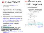 m government