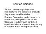 service science
