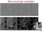 zero crossings examples