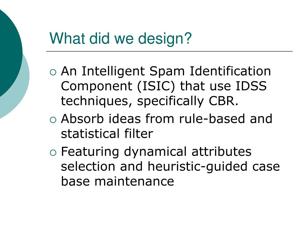 What did we design?