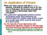 an application of primes