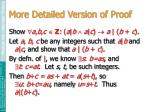 more detailed version of proof