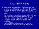 r4b nerf fields